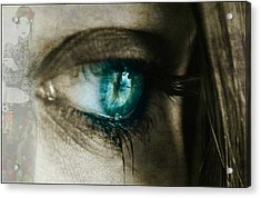 I Cried For You  Acrylic Print by Paul Lovering