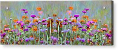 I Got To Get Back To The Garden Acrylic Print by Bill Cannon