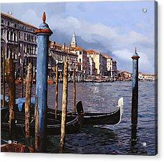 I Pali Blu Acrylic Print by Guido Borelli