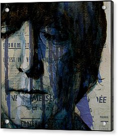 I Read The News Today Oh Boy  Acrylic Print by Paul Lovering