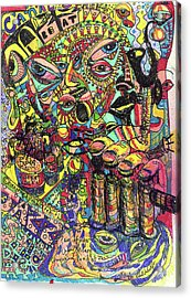 I Want To Be In That Number Acrylic Print by Robert Wolverton Jr