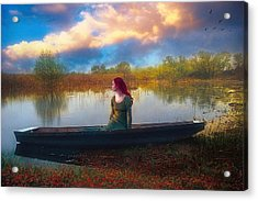 I Will Wait For You Acrylic Print by John Rivera