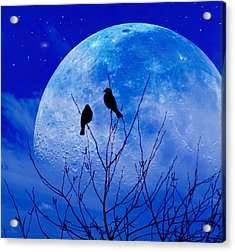 I Would Give You The Moon Acrylic Print by John Rivera