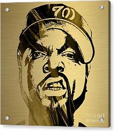 Ice Cube Straight Outta Compton Acrylic Print by Marvin Blaine