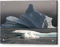 Ice Pinacle Acrylic Print by Elisabeth Van Eyken