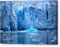 Ice Wall Acrylic Print by Helen Carson