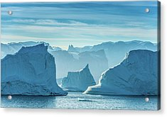 Iceberg View - Greenland Travel Photograph Acrylic Print by Duane Miller