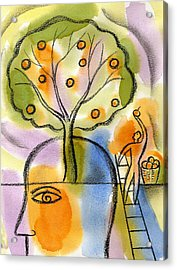 Idea Acrylic Print by Leon Zernitsky