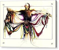 Identity Crisis Acrylic Print by Anthony Burks Sr