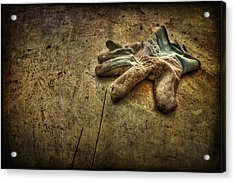 If The Glove Doesn't Fit........ Acrylic Print by Evelina Kremsdorf