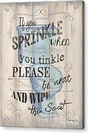 If You Sprinkle Acrylic Print by Debbie DeWitt