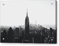I'll Take Manhattan  Acrylic Print by J Montrice