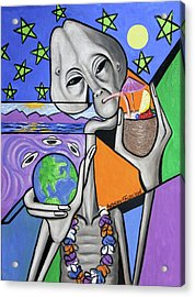 Illegal Alien Anthony Falbo Acrylic Print by Anthony Falbo