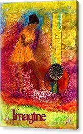 Imagine Winning Acrylic Print by Angela L Walker