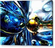 Impassioned Abstract Acrylic Print by Alexander Butler