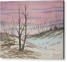 Impressions In Oil - 17 Acrylic Print by Bill Turck
