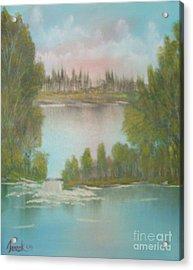 Impressions In Oil - 5 Acrylic Print by Bill Turck