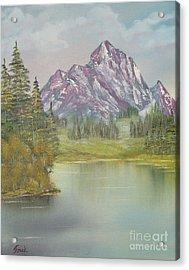 Impressions In Oil -13 Acrylic Print by Bill Turck