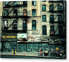 In Another Time And Place Acrylic Print by Vivienne Gucwa