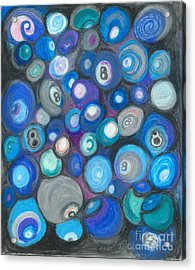 In Front Of The 8 Ball Acrylic Print by Ania M Milo
