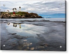 In The Beginning II Acrylic Print by Jon Glaser