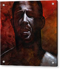 In The Darkness 1 Acrylic Print by Chris  Lopez