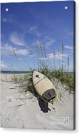 In The Dunes Acrylic Print by Benanne Stiens