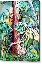 In The Jungle Acrylic Print by Mindy Newman