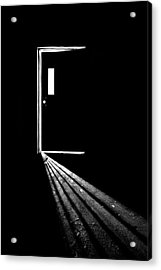 In The Light Of Darkness Acrylic Print by Evelina Kremsdorf