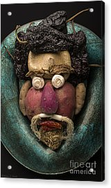 In The Manner Of Arcimboldo Acrylic Print by Warren Sarle