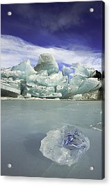 In The Rough Acrylic Print by Ed Boudreau