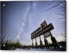 In The Sea Oats Of Fort Pickens Acrylic Print by JC Findley