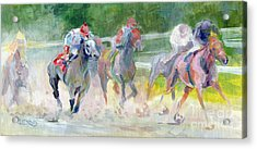 In The Slop Acrylic Print by Kimberly Santini