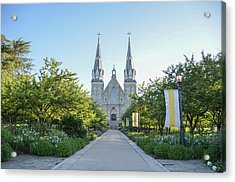 In The Spring At Villanova Acrylic Print by Bill Cannon