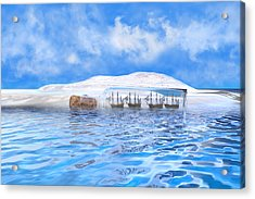 In Their Own Minds--serenity Point Acrylic Print by Betsy C Knapp