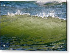 Incoming Wave Acrylic Print by Sandra Updyke