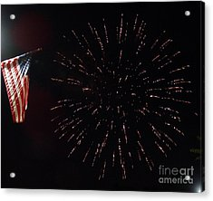 Independence Day Acrylic Print by Gina Sullivan