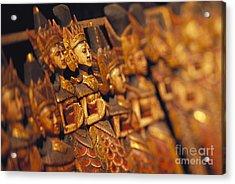 Indonesian Dolls Acrylic Print by Dana Edmunds - Printscapes