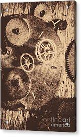 Industrial Gears Acrylic Print by Jorgo Photography - Wall Art Gallery