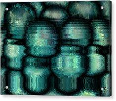 Industrial View Acrylic Print by Rafi Talby
