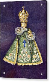 Infant Jesus Of Prague Acrylic Print by Yuriy  Shevchuk