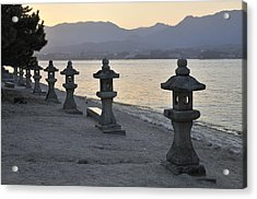 Inland Sea Sunset Acrylic Print by Andy Smy