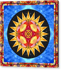 Inner Sun Acrylic Print by Bell And Todd