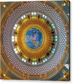 Inside The Dome Acrylic Print by Jame Hayes