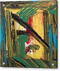 Inspired By Jazz Tuesday Acrylic Print by Mary Carol Williams
