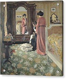 Interior Acrylic Print by Felix Edouard Vallotton