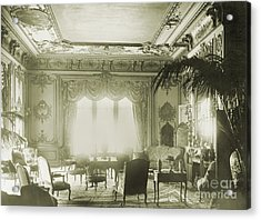 Interior Of Astor Mansion, New York Acrylic Print by Science Source