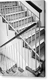 Interior Stairs Acrylic Print by Tom Gowanlock