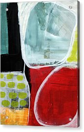 Intersection 37- Abstract Art Acrylic Print by Linda Woods