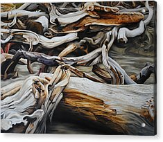 Intertwined Acrylic Print by Chris Steinken